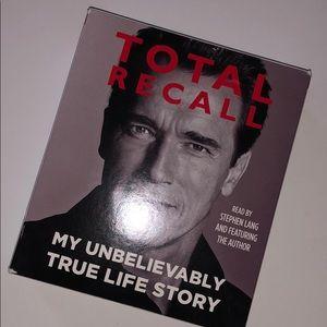 Other - Arnold Schwarzenegger Total Recall Audio Book